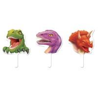 Muffin-Picker mit Dinosauriern