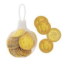 Spielzeug-Goldmünzen aus Kunststoff