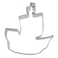 Plätzchenausstecher in Piratenschiff-Form