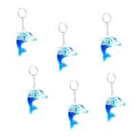Schlüsselanhänger mit Delfinen