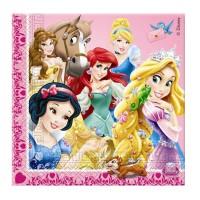 Servietten mit den Disney Prinzessinnen