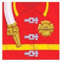 Party-Servietten für Kinder im Feuerwehr-Design