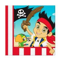 Servietten mit Jake und die Nimmerland-Piraten