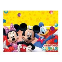 Tischdecke mit Micky Maus Wunderhaus-Motiv