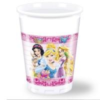 Plastikbecher mit den Disney Prinzessinnen