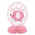 Tischaufsteller rosa Babyphant