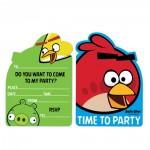 Einladungskarten Angry Birds