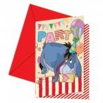 Kindergeburtstag-Einladung mit Winnie Puuh