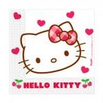 Servietten Mit Hello Kitty Motiv