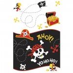 Tischdecke Ahoy mit Piraten-Motiv