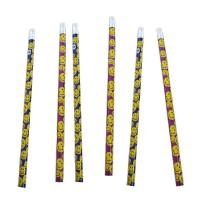 Bunte Bleistifte mit Radiergummi